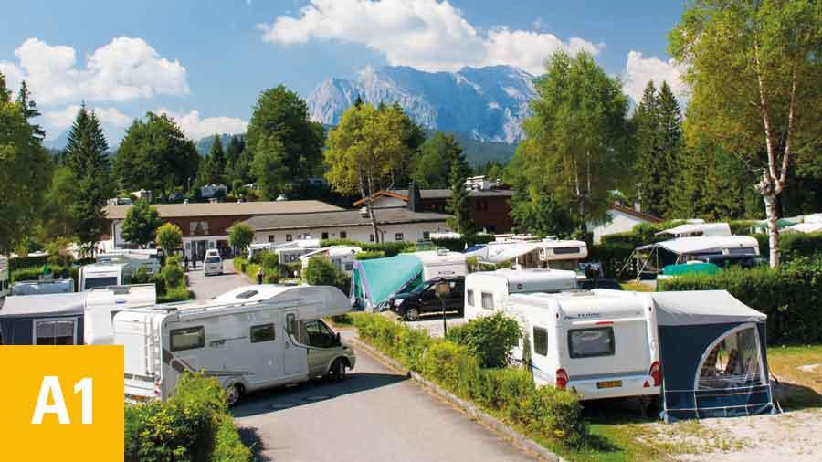 Alpen-Caravanpark-Tennsee-Komforthauptplatz