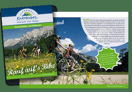Broschuere Traumpfade-Karwendel