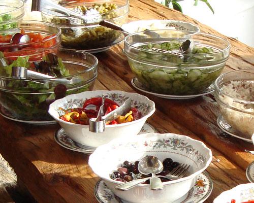 Salatebuffet Restaurant – beim Mini
