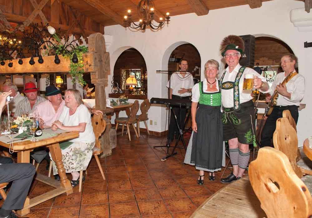 Restaurant Kruen Garmisch Musikabend