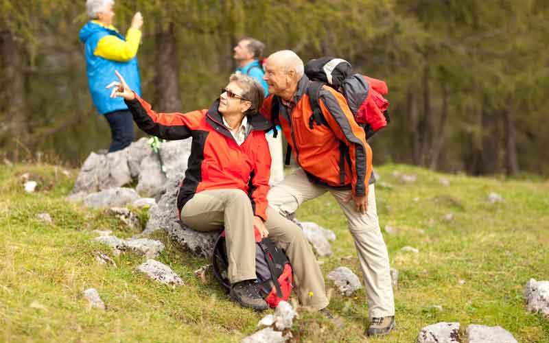 Wandern am Camping Tennsee